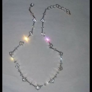 """Jewelry - """"Can't Help But Look"""" Rhinestone Necklace"""